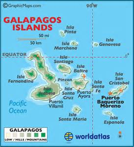 free coloring pages of galapagos map