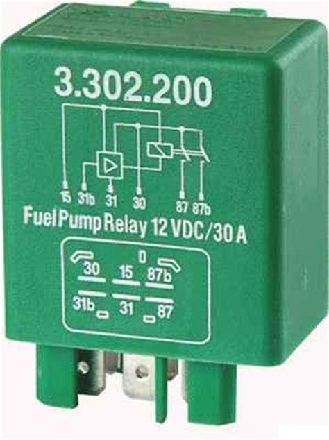 volvo  fuel pump relay    retro rides