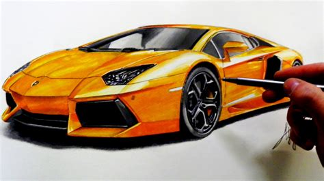 Lamborghini Drawings Drawing Lamborghini Aventador