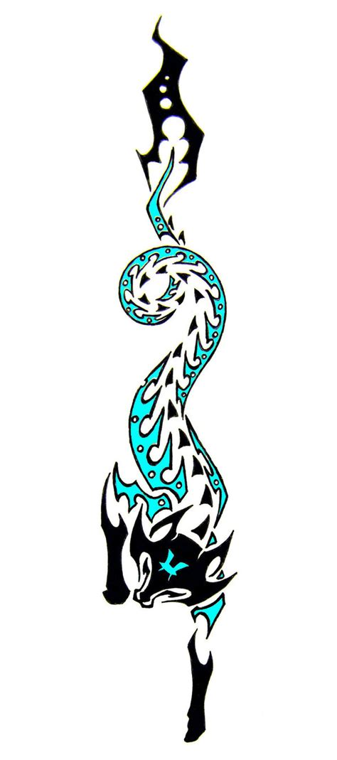 piscean fox tribal tattoo clipart best clipart best