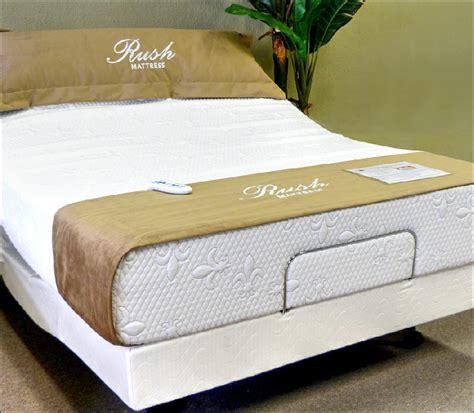 rush mattress adjustable beds