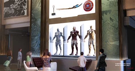 themed hotels in nyc disney announces marvel hotel for disneyland paris and