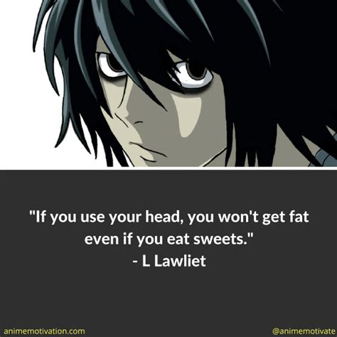 L Quotes by Image Gallery L Lawliet Quotes