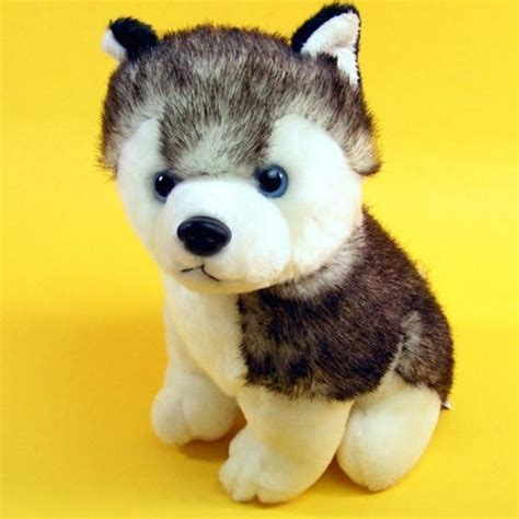 puppy stuffed animals husky plush sled stuffed animals plush toys evtoys