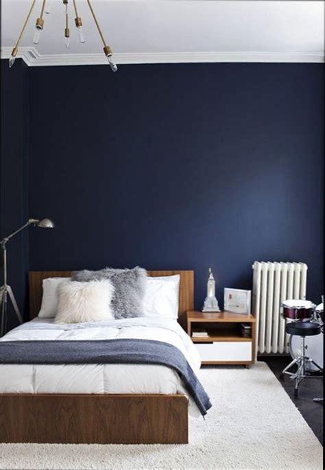 chambre bleu et blanc chambre bleu marine et blanche id 233 es de design maison et