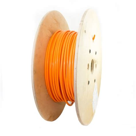 Room Design Builder coroplast 25mm orange hv cable fev d 0002 high voltage cable