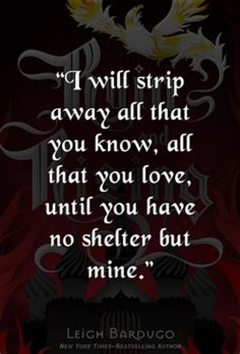 in smoke and ruins burned by magic books nikolai to alina quote from siege and by leigh