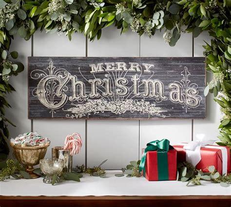 merry christmas chaulk board pottery barn merry pottery barn