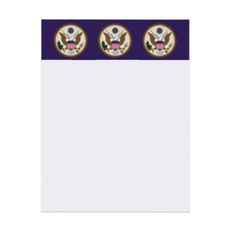 Official White House Letterhead official presidential seal letterhead my favorite zazzle products presidential