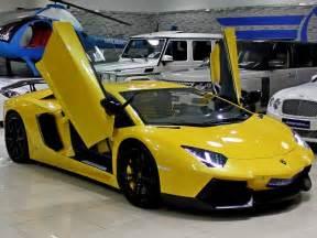 Lamborghini For Sale In Bold Yellow Lamborghini Aventador For Sale Gtspirit