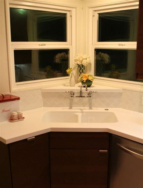ideas  corner kitchen sinks  pinterest