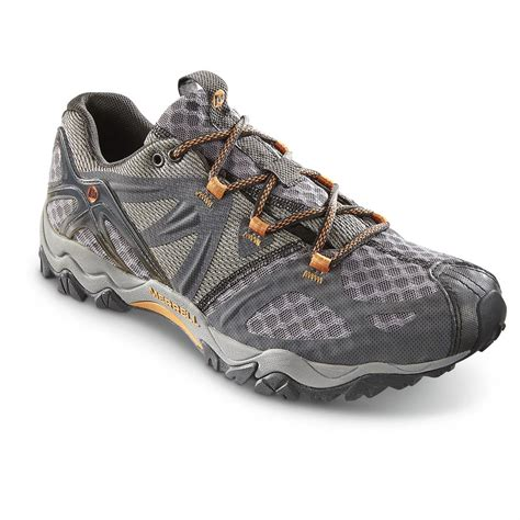 mens hiking sneakers merrell s grassbow air hiking shoes 640112 running