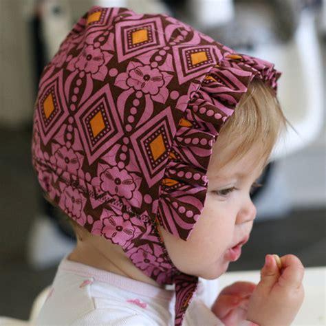diy reversible bonnet  downloadable pattern pretty