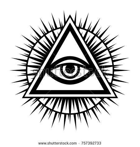 illuminati symbol eye illuminati stock images royalty free images vectors