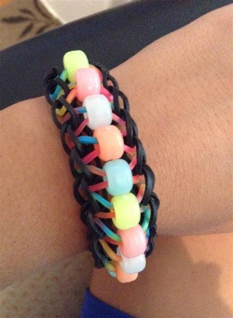 how to make a beaded ladder bracelet how to make the rainbow loom beaded ladder easy