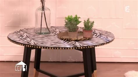 Relooker Une Table Ronde by Relooker Une Table Basse Dans Un Style Rock Ccvb