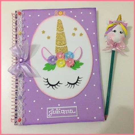 cuadernos decorados de unicornio con foami 20814108 10207580565751426 613003869 n jpg 976 215 976