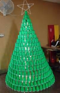 plastic cups christmas tree tree craft and ideas tree and