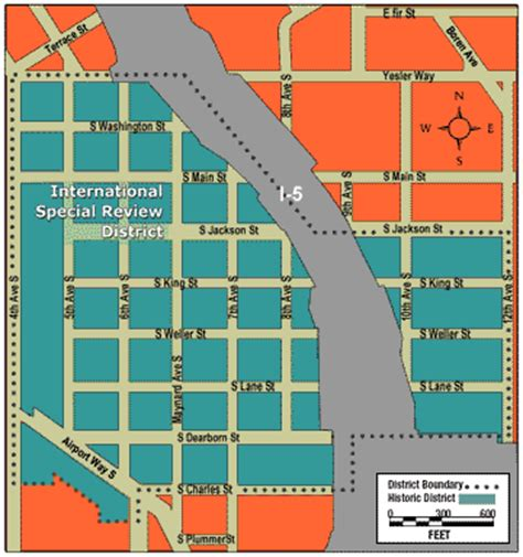 seattle map international district international district neighborhoods seattle gov