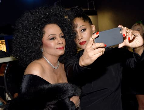 tracee ellis ross and diana ross celebrities at the 2014 american music awards popsugar