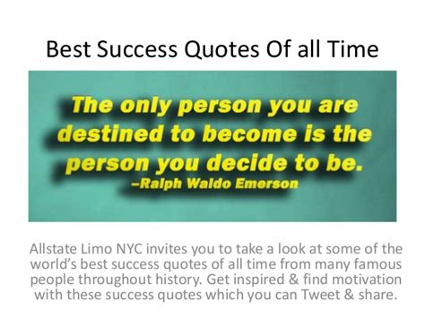 the best of all time best success quotes of all time