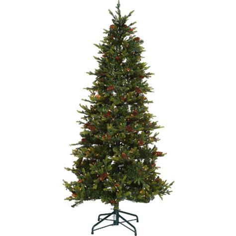 wwwqvccomprelit christmas trees new bethlehem lights 7 5 noble spruce tree w instant power ebay