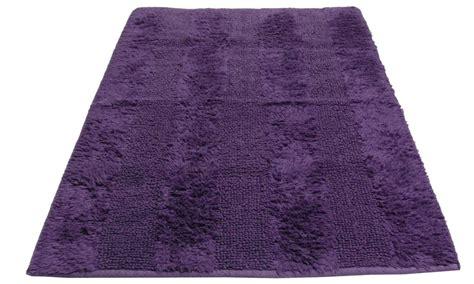badvorleger lila frottee vorleger badvorleger badematte lila wohnen