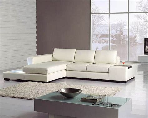 2pc White Leather Sectional Sofa Set 44lt35miniwhl Leather Sectional Sofa Set