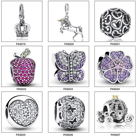 wholesale 925 sterling silver european charms for bracelet