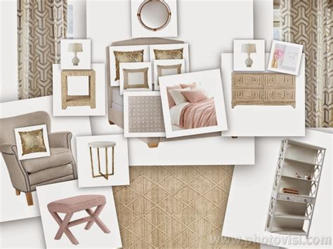 blush room peaceful home decor blush and gold guest room inspiration board
