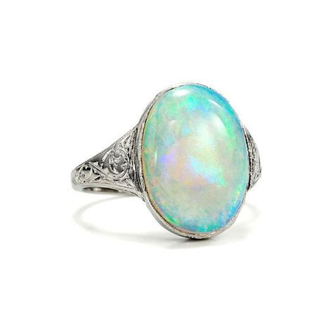 deco opal ring s depths deco opal ring cuteeee