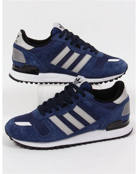Adidas Zx700 Navy White adidas zx 700 trainers navy grey black originals shoes
