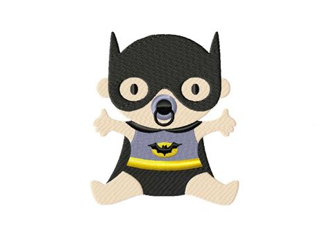 Free Kitchen Embroidery Designs by Batman Baby Machine Embroidery Design Daily Embroidery
