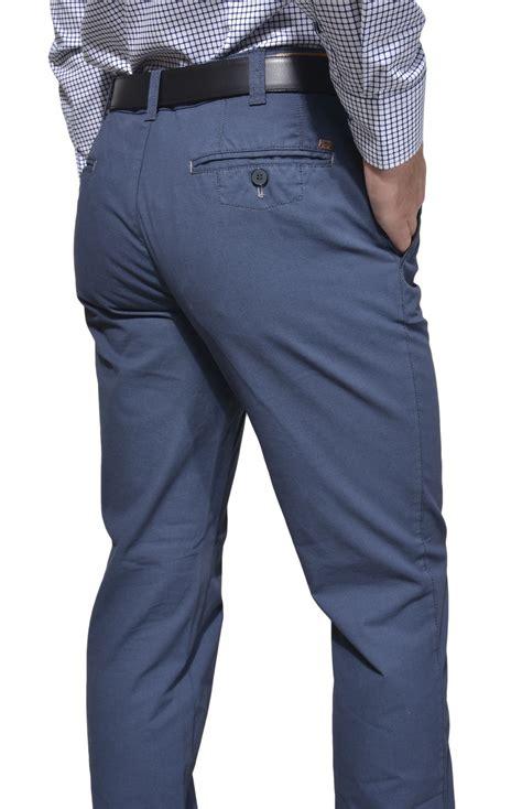 blue chino grey blue casual chinos trousers e shop alaindelon