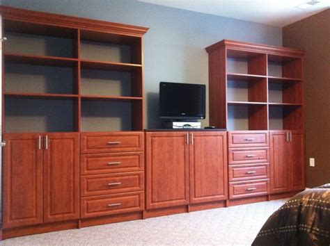 custom wall units for bedrooms bedroom wall unit traditional bedroom new york by bella systems custom closets