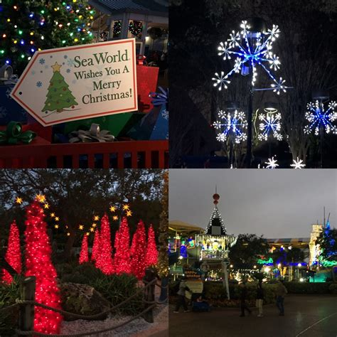 Christmastown Busch Gardens by Magic At Seaworld S Celebration And