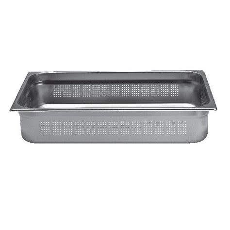 bac cuisine inox bac inox cuisine gastronorme gn1 1 perfor 233 inox aisi
