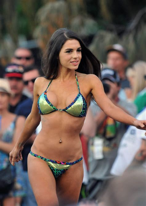 Here Are Pictures of the Swimsuit Show for Miss v8