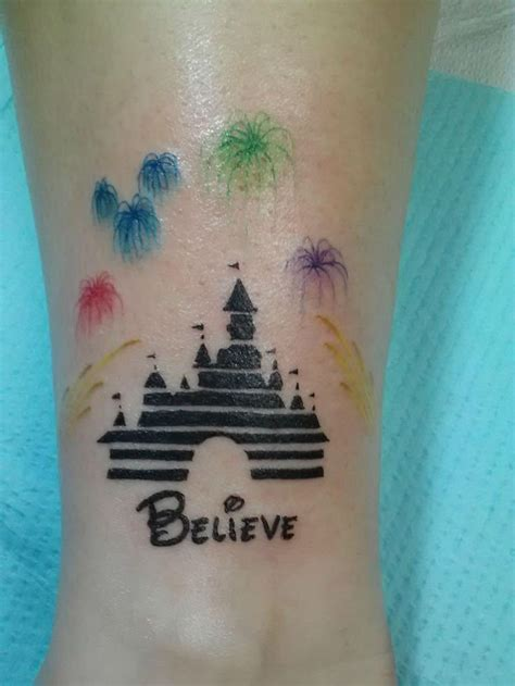 disney castle tattoos designs 36 awesome disney themed designs sortra