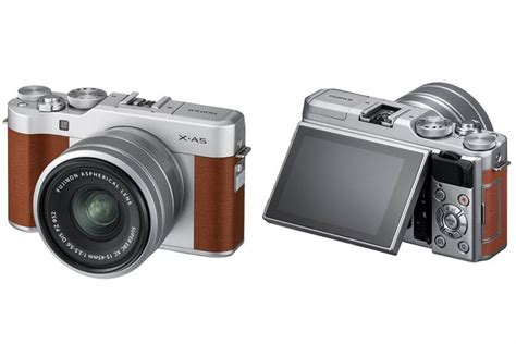 Kamera Mirrorless Fuji mirrorless quot 4k quot fujifilm x a5 meluncur harganya kompas
