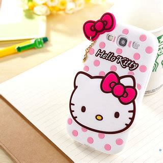 hello kitty wallpaper for samsung j5 cute hello kitty silicone with pendant back case cover for