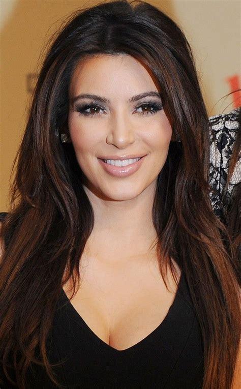 Pinterest Long Bob Hairstyles Kim Kardashian   kim kardashian sleek and long hairstyle hair styles