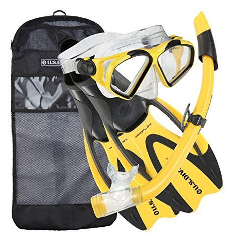 Kacamata Renang Diving Snorkeling Set Hydro Pro 24 Terbagus 1 u s divers cozumel snorkeling set mask proflex fins splash guard snorkel gear bag