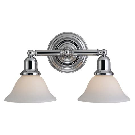 Sea Gull Vanity Lighting Sea Gull Lighting 44061 05 Chrome Sussex 2 Light Bathroom Vanity Light Lightingdirect