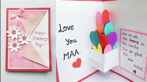 Fiy Mothers Day Pop Up Card Template by Diy S Day Card S Day Pop Up Card Pop