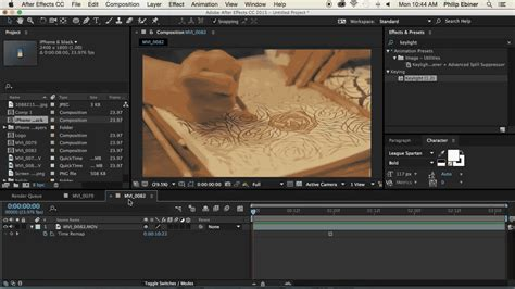 tutorial opening after effect after effects tutorial learn the basics