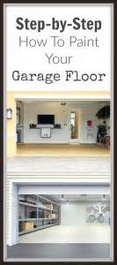 How To Paint Your Garage Floor by How To Paint Your Garage Floor Painted Furniture Ideas