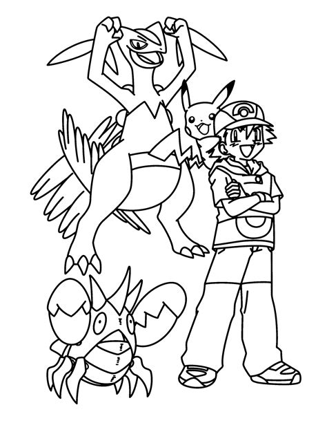 pokemon coloring pages grovyle pokemon advanced coloring pages