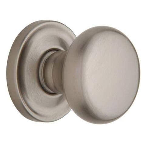 baldwin estate classic satin nickel dummy door knob