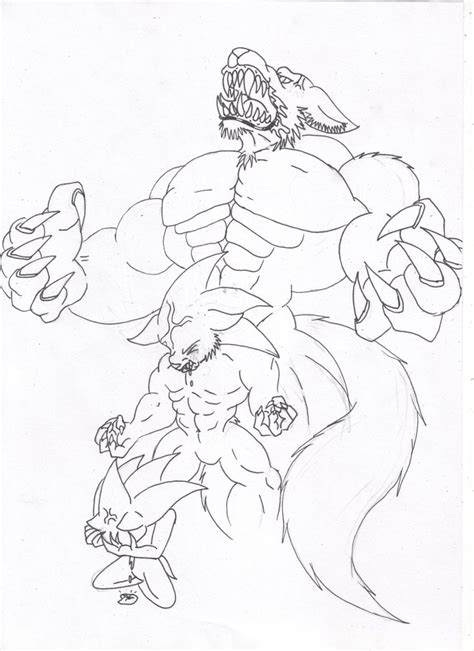 step 10 how to draw a werewolf transformation werewolf werewolf transformation by segafan15 on deviantart
